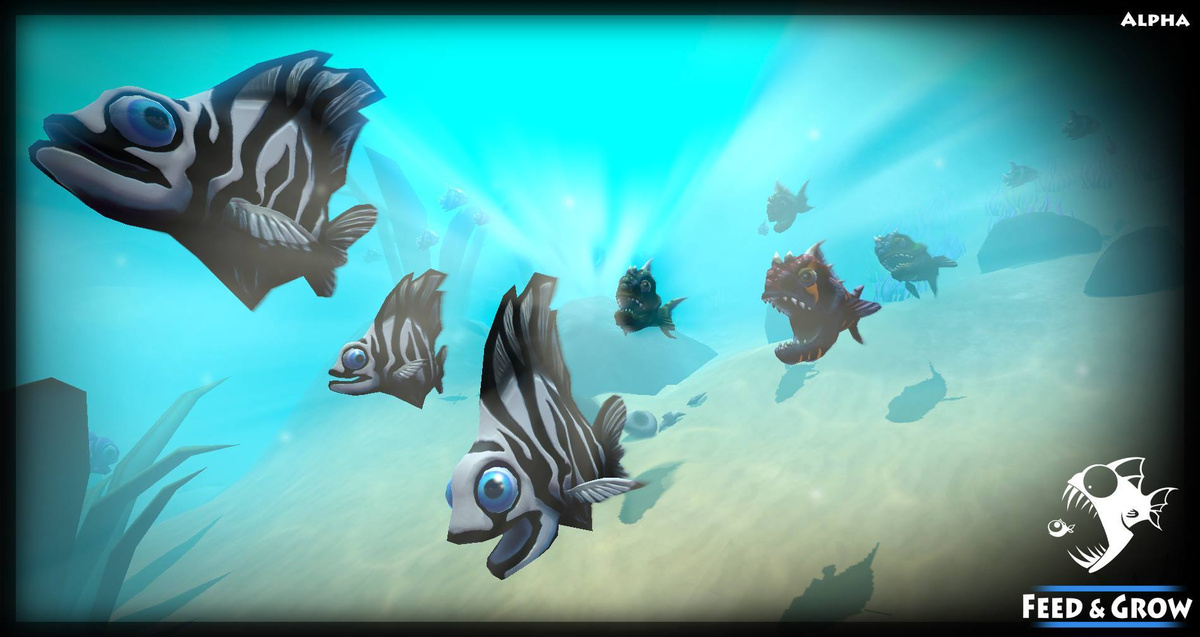Play Feed and Grow: Fish, a free online game on Kongregate